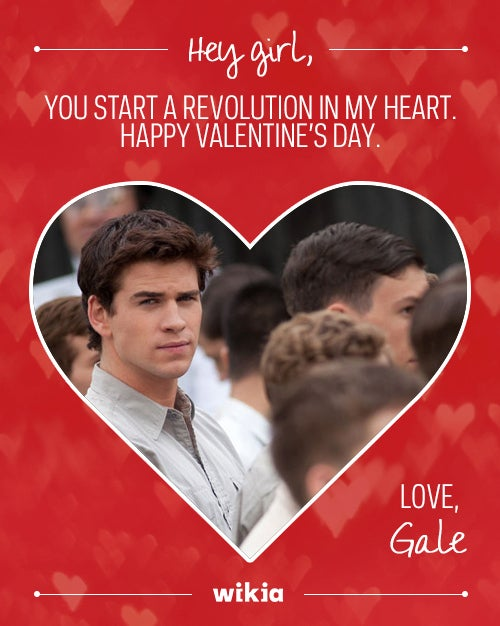 We'll start a revolution with you any day, Gale <3
