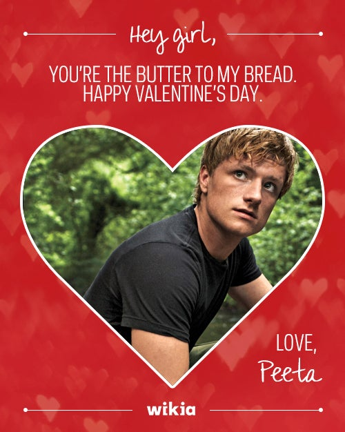 Thanks to Peeta, bread jokes have never been sexier.