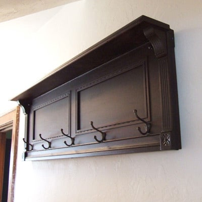 Play on! Use the back of an old piano as a subtle but interesting coatrack/ functional bookshelf (you can never have enough bookshelves, am I right?) in the entryway.SEE MORE: Best Reuse Ideas From Readers Like You