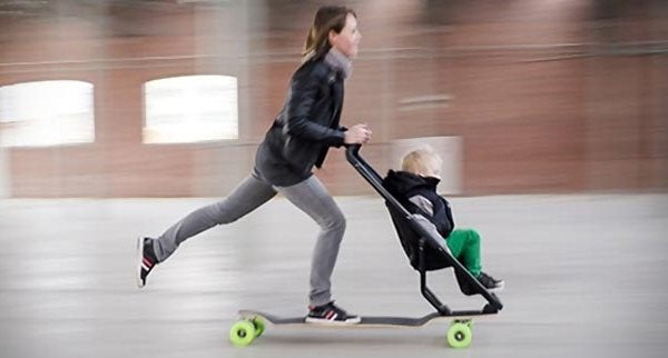 The Longboard Stroller is being put together by Studio Peter van Riet, and although it's not available to buy just yet, can you imagine what the streets are going to be like once it's available? Something to look forward to…