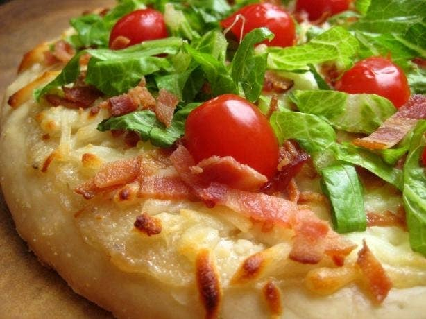 Bacon + pizza? Is this real life?