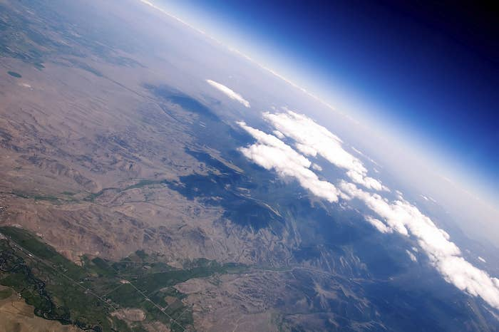 You can see loads of manmade objects from space. In fact, the Great Wall of China is actually NOT easily visible from space.