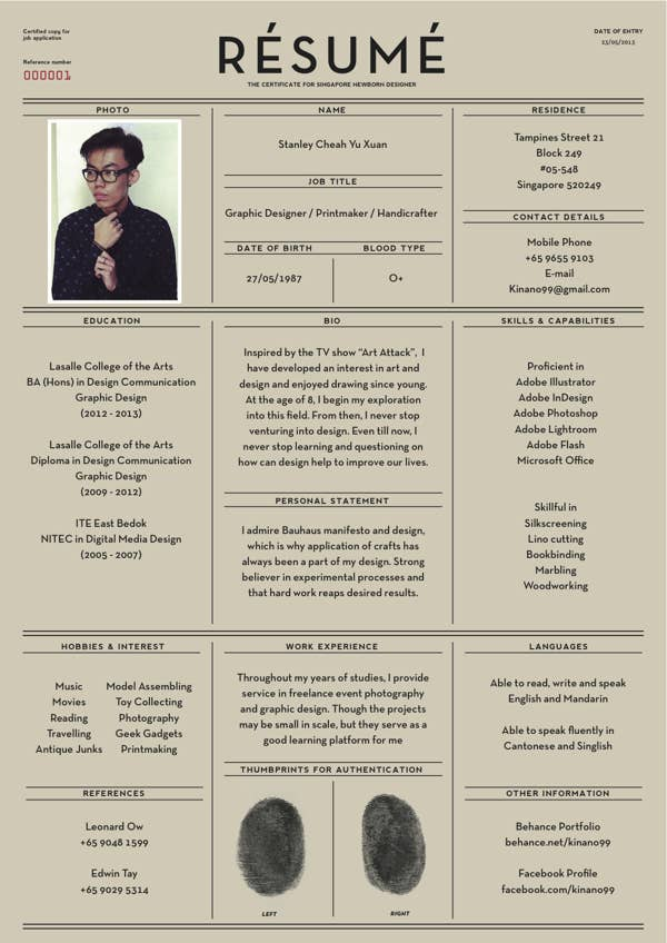 26 - Beautiful Resumes