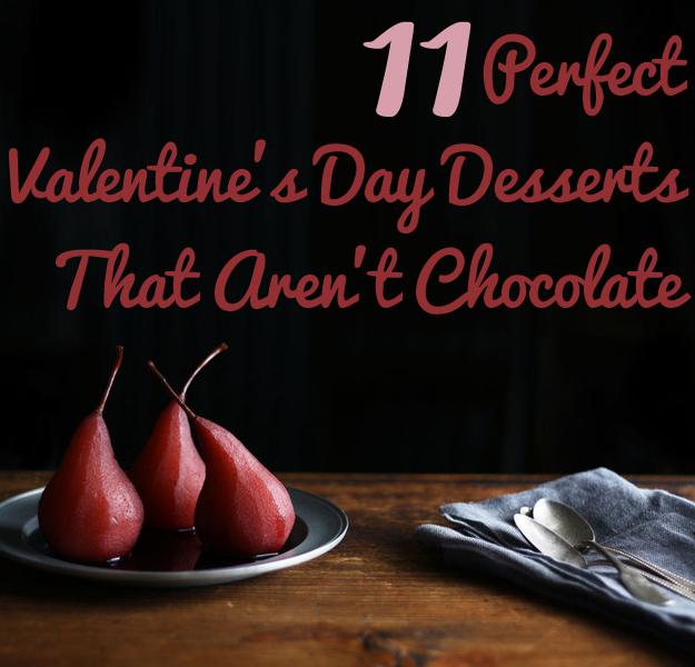 11 Perfect Valentine's Day Desserts That Aren't Chocolate