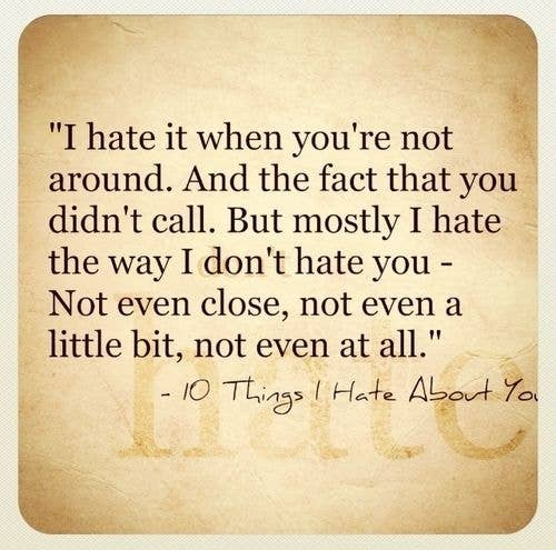 For when 'I hate you!' really means 'I love you.'