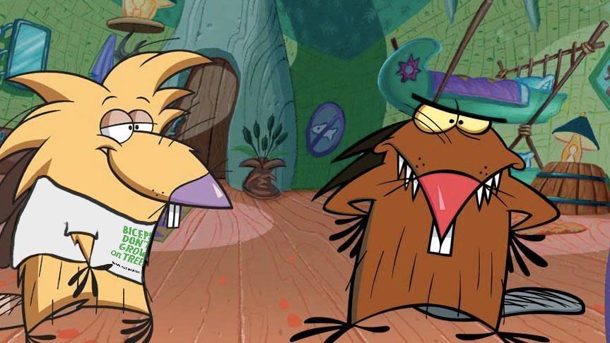 Angry beavers daggett
