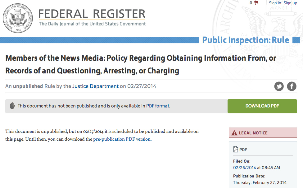 the governments policy regarding the legal issues of the federal register Legal status notice request for information regarding federal technology transfer only official editions of the federal register provide legal notice to the public and federal technology transfer policies and procedures are governed by legislation, much.