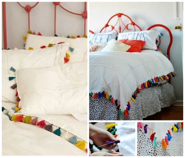 diy anthropologie hacks for every facet of your life, Bedroom decor
