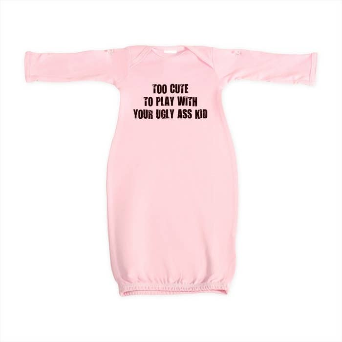 9859116e 23 Wildly Inappropriate Baby T-Shirts And Onesies