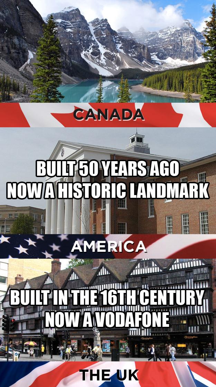 Image result for canada vs america