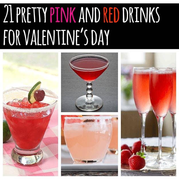 share on facebook share - Valentine Drink