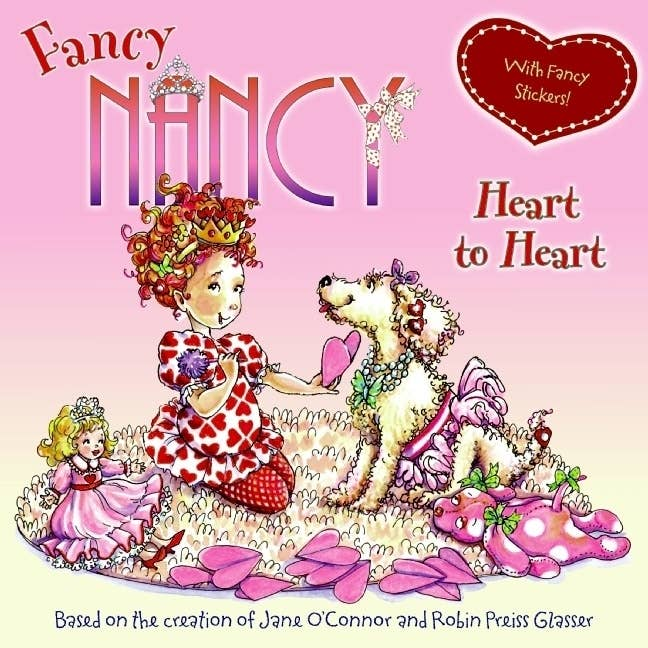 Who's more fabulous than Fancy Nancy? Well this fabulous little girl has a secret admirer! Read the book to find out who it is!