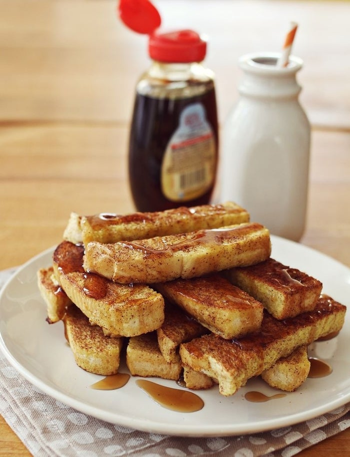 Being called to the dining hall over the PA system for French Toast Stix (or waffles, or pancakes) is your new alarm clock. You're welcome.