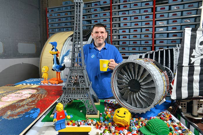 Meet Duncan Titmarsh of Farnham in Surrey. Always interested in toys, he's chased his childhood love of LEGOs straight into the realm of professional LEGO building — which is a thing. He's a Professional LEGO Builder.