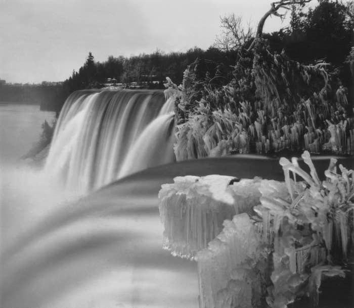 It was so cold in the winter of 1848, Niagara Falls was entirely frozen. For 30 hours in March of that year, locals who had grown accustomed to the noisy falls were treated to absolute silence.