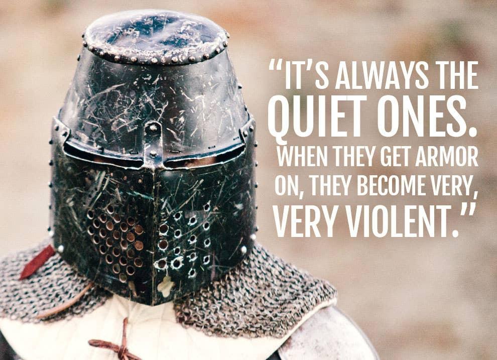 Inside The Violent, Geeky World Of Hardcore International Medieval