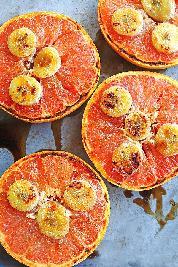 Grapefruit? In the oven?! Don't mind if I do. Recipe here.
