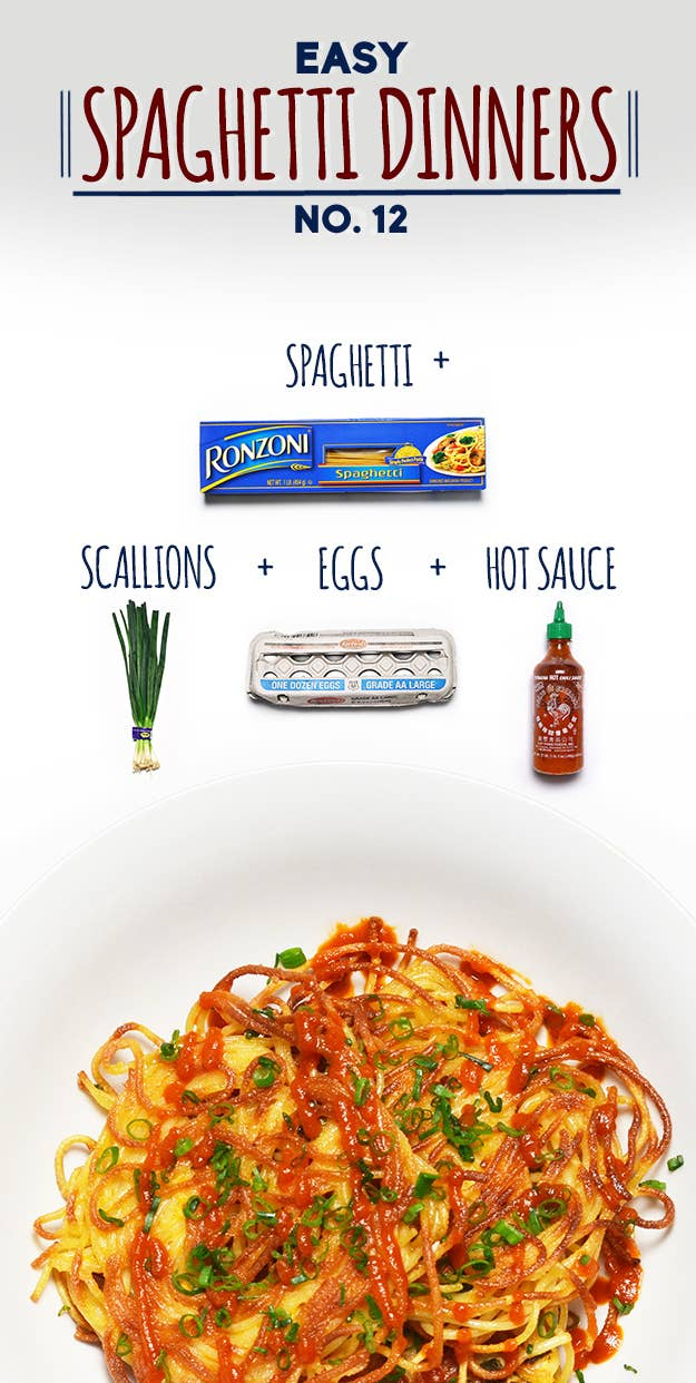 How to make spaghetti scallion pancakes share on facebook share ccuart Gallery
