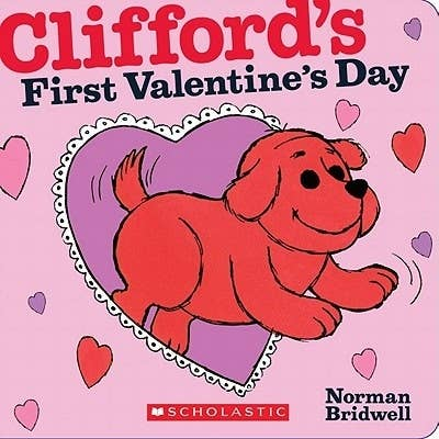 Read along as the always curious Clifford helps Emily Elizabeth make and deliver a special Valentine's Day card to her Grandma. So precious.