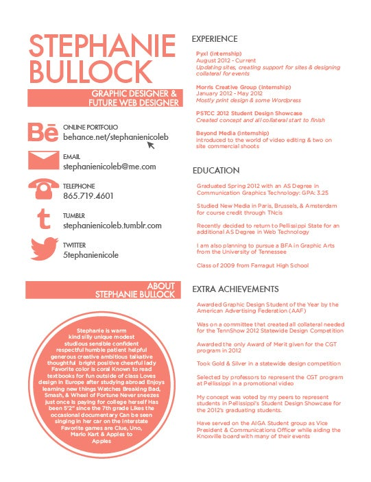Cute Resume Templates | 27 Beautiful Resume Designs You Ll Want To Steal