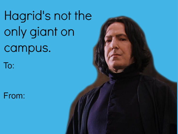The 18 Best Valentine S Day Cards For The Harry Potter
