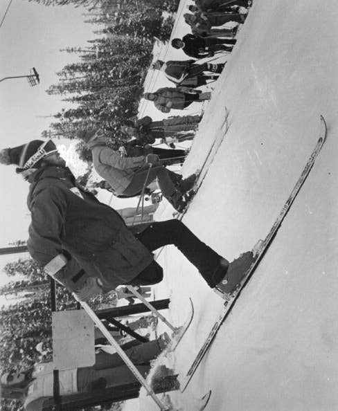 Held in Ornskoldsvik, Sweden, the first Games consisted of two skiing events, as compared to today's five-sport competition.