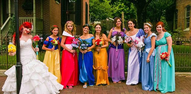 Wedding Ideas Disney Theme
