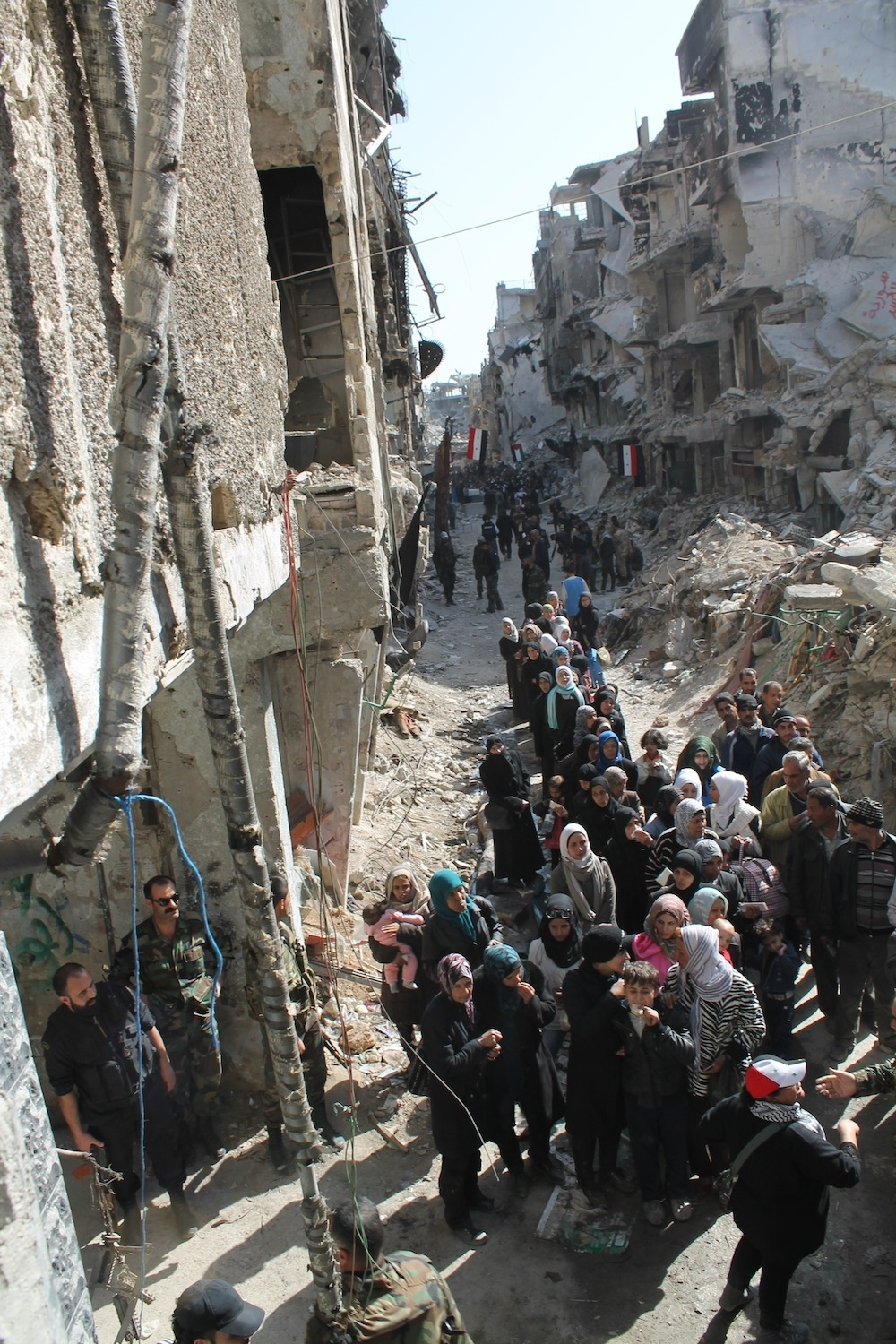 These Photos Of Yarmouk Show Some Of The Devastation Of The Syrian War