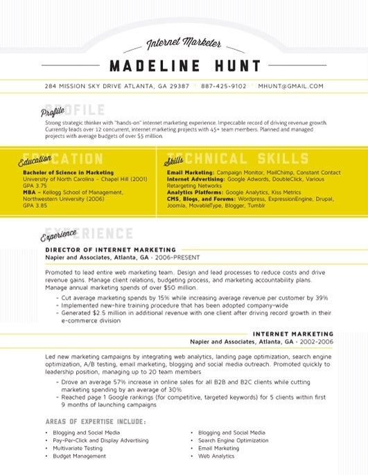 4 the well rounded cv - Free Cv Templates Word Uk