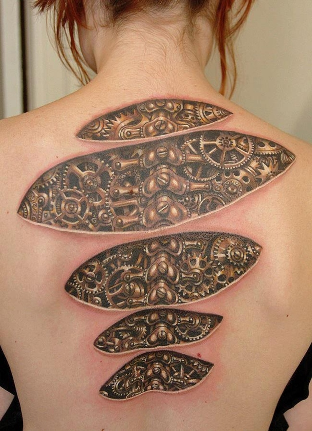 18 optical illusion tattoos that will make you take a for Tattoo places open late