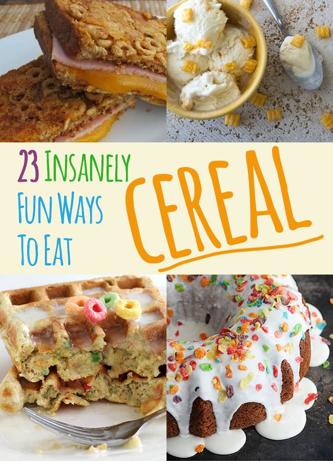 23 Insanely Fun Ways To Eat Cereal
