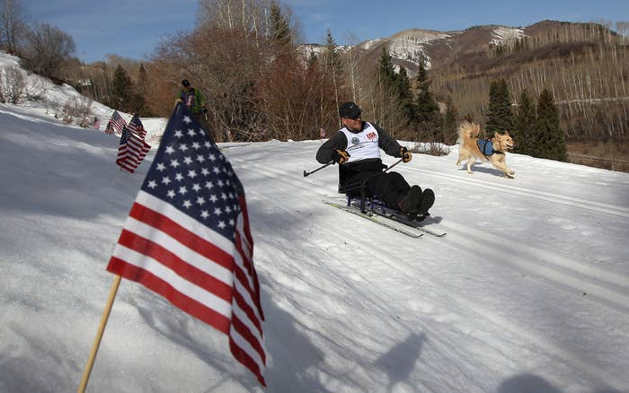 More than half of the members of the U.S. Cross-Country ski team are veterans.
