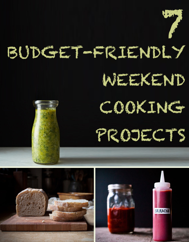 7 Budget-Friendly Weekend Cooking Projects