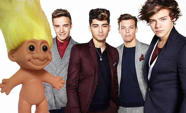 12 Times One Direction's Niall Horan Looked Like A Troll Doll