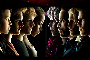 what are the characters in the hunger games
