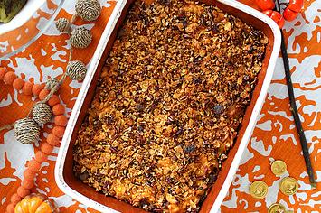 How To Make Sweet Potato Bourbon Noodle Kugel For Thanksgivukkah