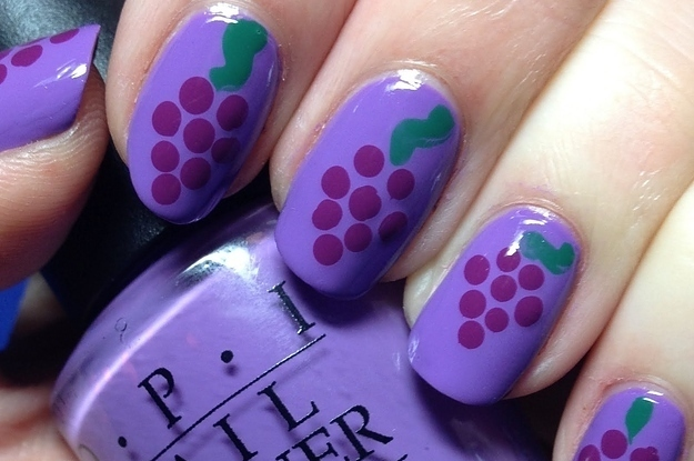 14 refreshing fruit nail art designs prinsesfo Image collections