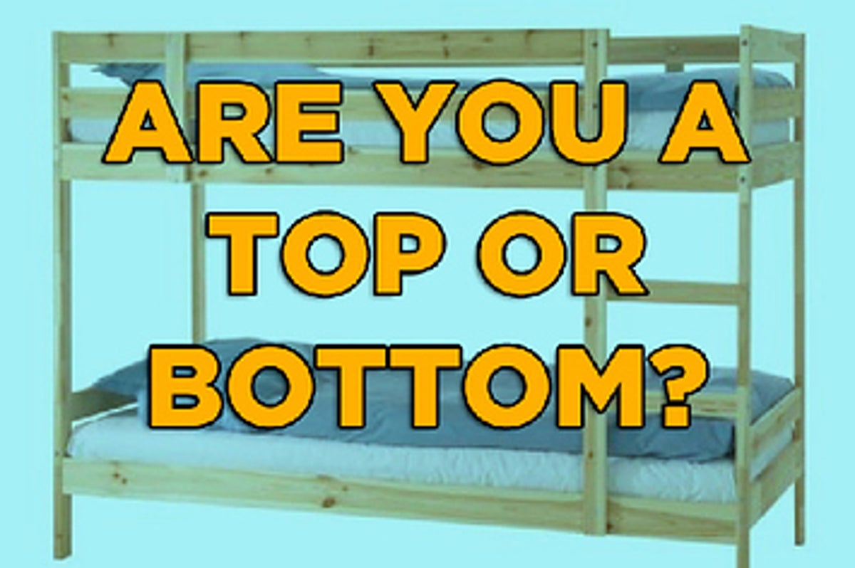Or bottom test gay okcupid top Top or