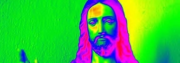 Image result for psychedelic jesus