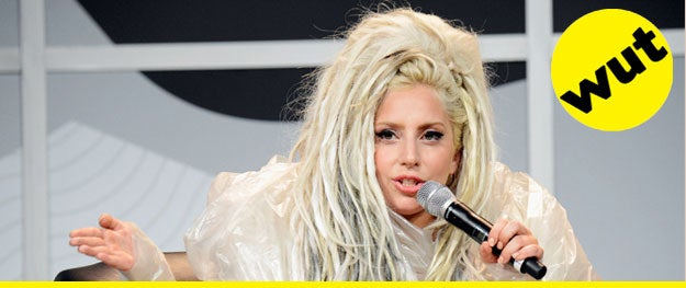Whilst wearing clear garbage bags the day after voluntarily being vomited on during a performance, Lady Gaga gave an intensely serious keynote speech at SXSW. - [Variety]