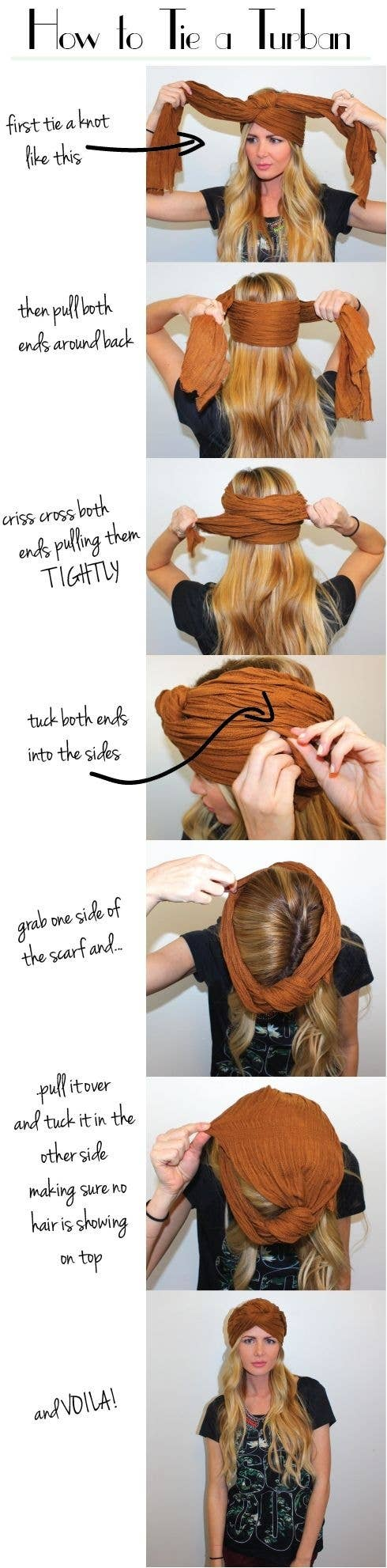 26 Cover A Bad Hair Day With A Turban