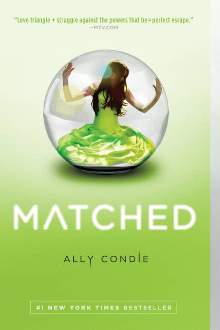 If you're looking for: A seemingly perfect society where darkness lurks beneath the surface.Try: The Matched Trilogy by Ally Condie