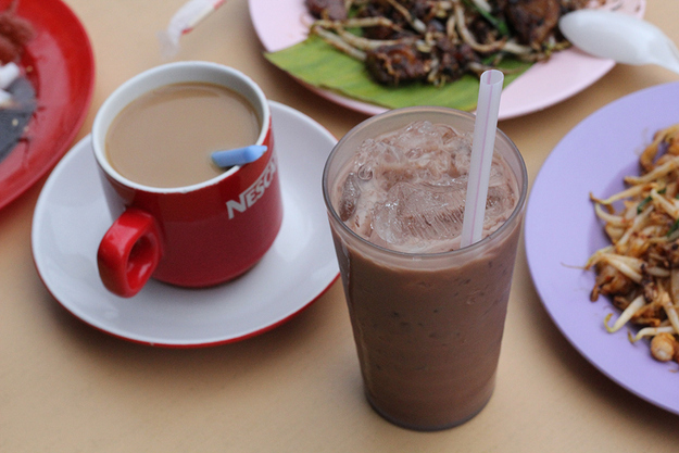 Café Drinks: Nescafé and Milo (Coffee and Chocolate Malted Beverage)