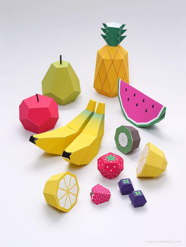 31 toy fruit