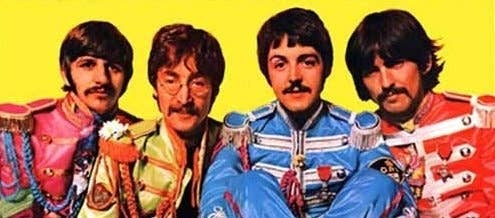 """Any time somebody does a """"Greatest Albums of All-Time"""" poll Sgt. Pepper's Lonely Hearts Club Band is in the top 5, and more often than not, the number 1 choice. Sgt. Pepper isn't even The Beatles' best album. It's full of weird old-timey sounding songs -- it's an album that The Beatles's parents would've loved."""