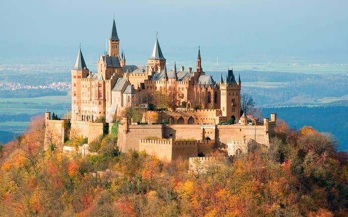Map Of German Castles.18 German Castles That Put Disney To Shame