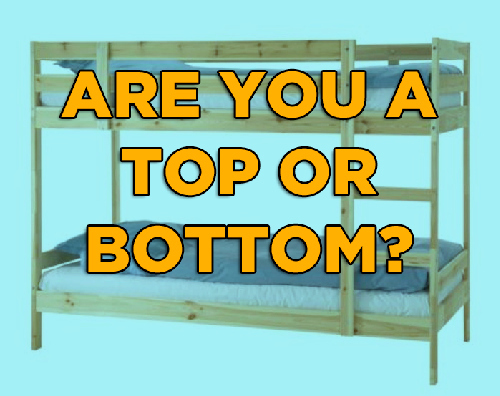Bottom or top