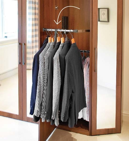 7 high impact diy closet hacks. Black Bedroom Furniture Sets. Home Design Ideas