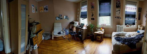 Se você tiver algumas horas: mude os móveis do seu quarto de lugar.