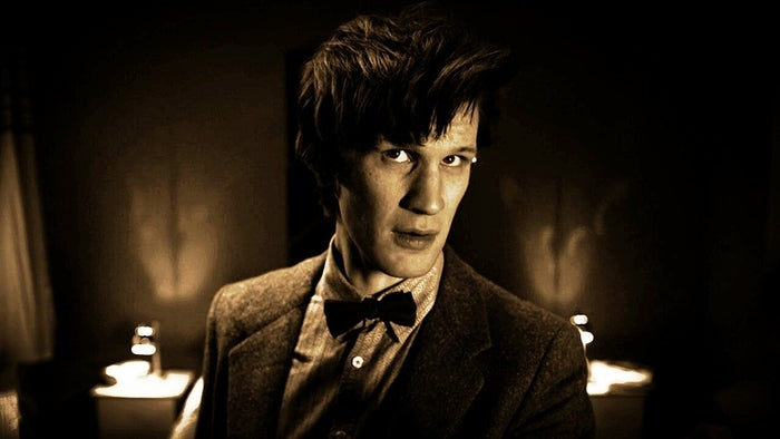 Matt Smith is cute as HECK. It's ridiculous. Look at that face. Also, he's hilarious. Like, really, really funny. And a great actor. I'm not gonna say he's the best Doctor, but he's my favorite Doctor.